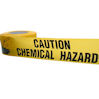 Chemical hazard barrier tape