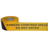 Confined space barrier tape