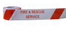 FIRE & RESCUE SERVICE barrier tape
