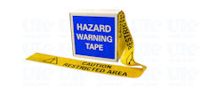 CAUTION RESTRICTED AREA barrier tape